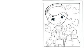 Printable Doc Mcstuffins Coloring Pages Coloring Pages Free
