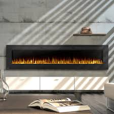 napoleon allure 100 inch wall mount electric fireplace lifestyle
