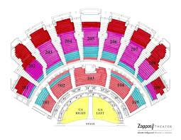 Hollywood Theater Las Vegas Seating Chart Gwen Stefani Just A Girl At Zappos Theater Tickets