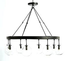 globe light chandelier 6
