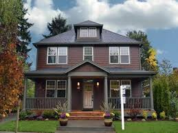 Exterior Modern Brick Paint House Design With Yard Plan Full Size Of Red  Wall Color Scheme ...