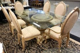 outstanding fantastic round pedestal glass top dining table excellent best glass for pedestal for glass dining table popular