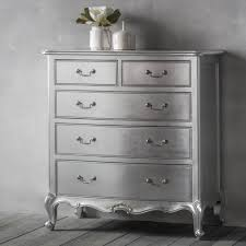 shabby chic chest of drawers. Chic Silver Drawer Shabby Chest To Of Drawers