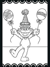 Free Printable Sesame Street Coloring Pages At Sesame Street