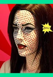 ic book costume makeup