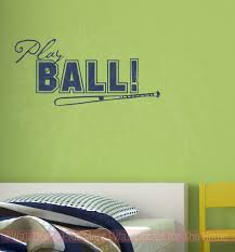 play ball wall art lettering sticker for bedroom d cor wall words decals for boys on wall art lettering words with play ball wall art lettering sticker for bedroom d cor wall words