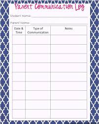 log book template communication log book template communication diary template teacher