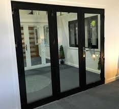 aluminium bi fold door 2410x2100 black or white 1 299 townsville qld