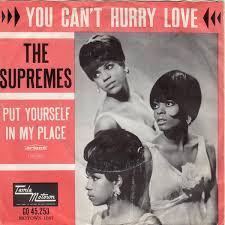 You can't hurry love is a 1966 song originally recorded by the supremes on the motown label. The Supremes You Can T Hurry Love 1965 Vinyl Discogs