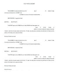 Office Rental Agreement Template Standard Commercial Lease Agreement Commercial Building