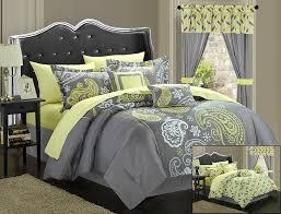 image of charcoal grey king comforter