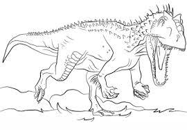 t rex coloring page juric park indominus rex coloring page free printable coloring german shepherd outline
