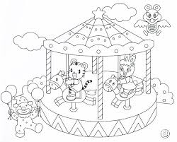 Small Picture Grand Carousel Coloring Pages PrintFree
