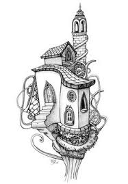 Small Picture Coloring Page Tree House Coloring Coloring Pages