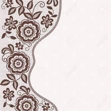 Card Frame Design Template Frame Design For Card Vintage Lace Doily