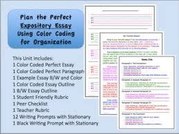 expository writing unit best selling color coded organizer  expository writing unit best selling color coded organizer revised