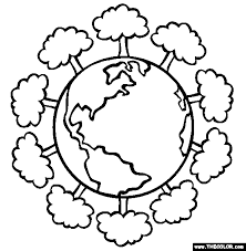 Small Picture Earth Day Going Green Online Coloring Pages Page 1