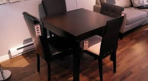 Full Size of Table:charismatic Lovely Noticeable Famous Inspire Q Weston  Black Square Pedestal Dining ...