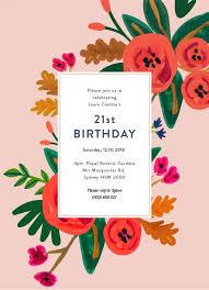 fl birthday birthday invitations
