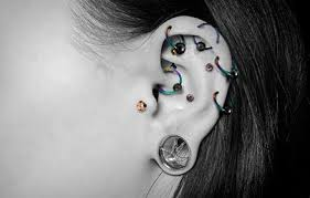 biggest gauge size piercing gauges jewellery sizes choosing your jewellery uk