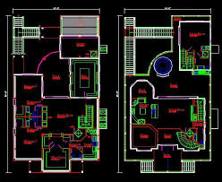 autocad plans houses dwg files new magnificent draw house plans