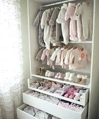 closet for baby clothes organizing the closet easy ideas tips shelves socks and room how to closet for baby clothes how
