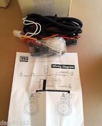 chris products 0735 halogen spotlight wiring harness for harley image is loading chris products 0735 halogen spotlight wiring harness for