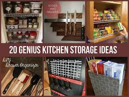 Home Kitchen Organization Chart Amazing Kitchen Storage Ideas Diycraftsguru