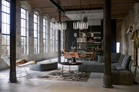 industrial living room furniture. Living Room Industrial Chairs Modern Decor Rustic Furniture Concrete