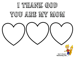 Mother S Day Coloring Pages Mothers