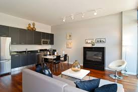 Small Living Room With Kitchen Rize Studios Classic Kitchen And