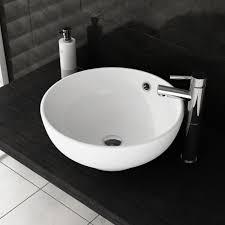 alana 420mm round countertop basin
