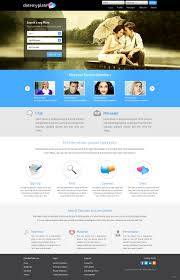Online Dating Website Design Modern Playful Dating Web Design For Datemyplate By Pb