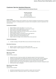 Good Customer Service Resume Amazing Exceptional Customer Service Skills Resume Wandererappco