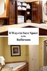 Space Saving Shelves 6 Space Savers For Small Bathrooms Space Saving Bathroom Ideas