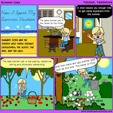 thoughts on fingertips how i spent my summer vacation essay comic how i spent my summer vacation essay comic