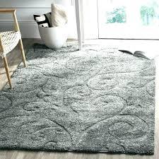 cherine modern gray area rug wool grey plush impressive rugs furniture charming