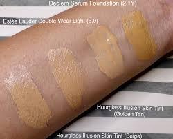 Estee Lauder Double Wear Light Foundation Intensity 3 0 Deciem Serum Foundation 2 1y Review Bookaholic Beauty