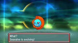 Seavalve Evolves In Pokemon Sun Moon New Pokemon