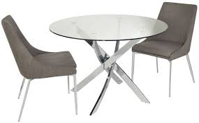 cer small circular dining table with 2 chairs