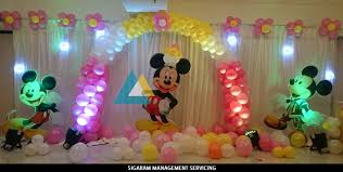 Mickey Mouse themed Birthday Decoration Pondicherry (3) Mickey Mouse Theme