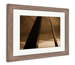 Arch Framing And Design St Louis Amazon Com Ashley Framed Prints St Louis Arch Metal Gateway