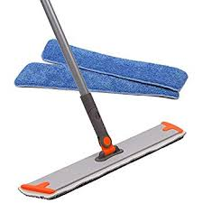 professional microfiber mop 3 reusable floor mops pad and 1 dirt removal scrubber included dust mop for hardwood floor laminate and tile floor