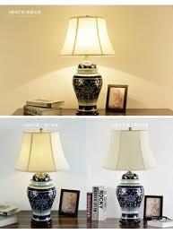 Tafellamp Antieke Woonkamer Studie Retro Vintage Porselein