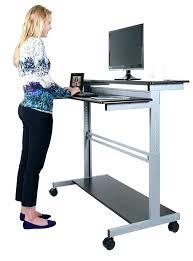 office depot desks glass. Office Depot Standing Desk Stand Up Staples Desks Glass And Black Metal B