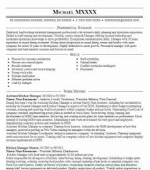 Assistant Kitchen Manager Resume Example Applebees