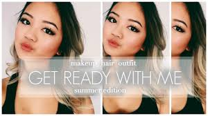 summer grwm hair makeup outfit first day of work summer grwm hair makeup outfit first day of work crystalkayann