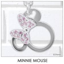disney necklace disney minnie mouse silver jewelry accessories lady s pendant necklace vpcds20160 mini regular article