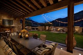 covered patio lights. Backyard Covered Patio Gr Image By Est Inc Lights S