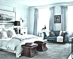 Bedroom Blue And White Blue And White Walls Traditional Bedroom Blue ...